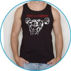 Koszulka na siłownię ramiączka 2