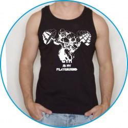 Koszulka na siłownię ramiączka 4