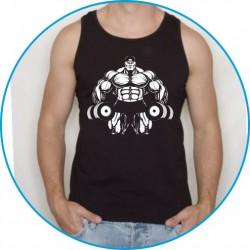 Koszulka na siłownię ramiączka 8