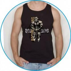 Koszulka na siłownię ramiączka 9
