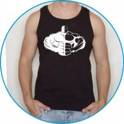 Koszulka na siłownię ramiączka 12