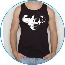 Koszulka na siłownię ramiączka 16