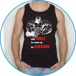 Koszulka na siłownię ramiączka 19