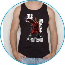 Koszulka na siłownię ramiączka 24