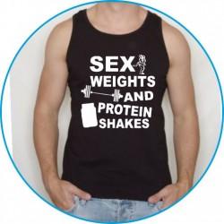 Koszulka na siłownię ramiączka 27