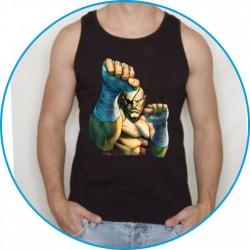 Koszulka na siłownię ramiączka 31