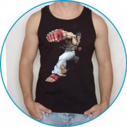 Koszulka na siłownię ramiączka 32