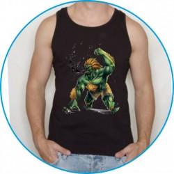 Koszulka na siłownię ramiączka 35