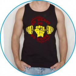 Koszulka na siłownię ramiączka 37