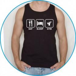 Koszulka na siłownię ramiączka 39