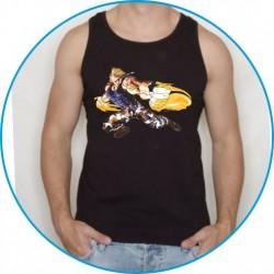 Koszulka na siłownię ramiączka 40