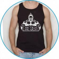 Koszulka na siłownię ramiączka 43