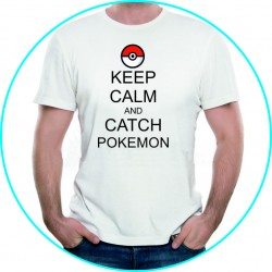 keep calm and catch the pokemon