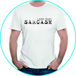 speak fluently sarcasm