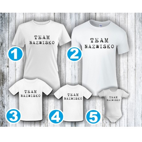 Koszulki rodzinne 13